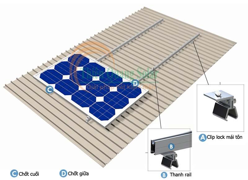 Phụ kiện lắp đặt pin năng lượng mặt trời
