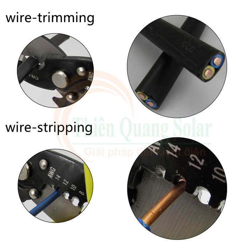 Kiềm cắt dây cáp