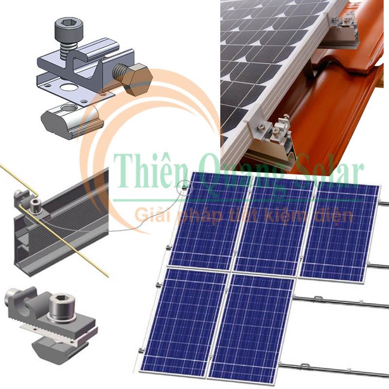 Nối đất cho pin mặt trời